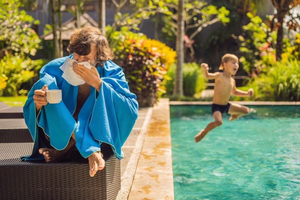 Sykemelding før og under ferieavvikling